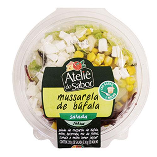 Salada atelie do sabor muss bufala