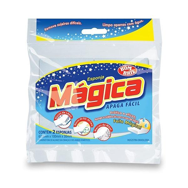 Esponja bombril magica apaga facil