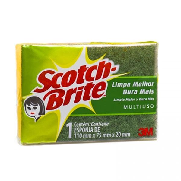 Esponja scotch brite dupla face