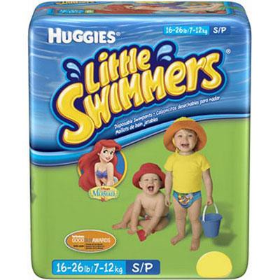 Fralda little swimmers disney 12un p