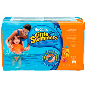 Fralda little swimmers disney m 11 unidade
