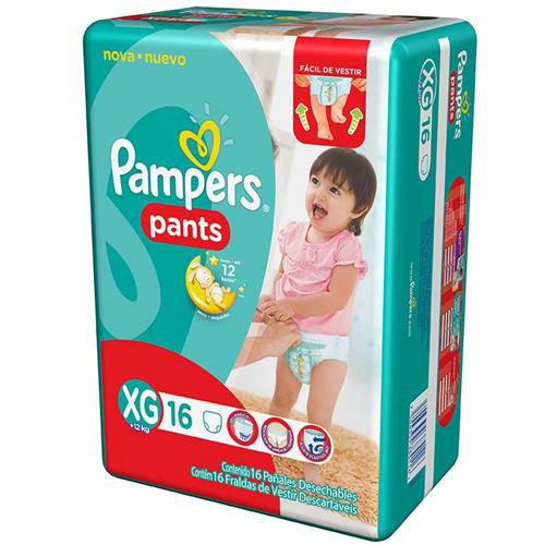 Fralda pampers pants xg c16