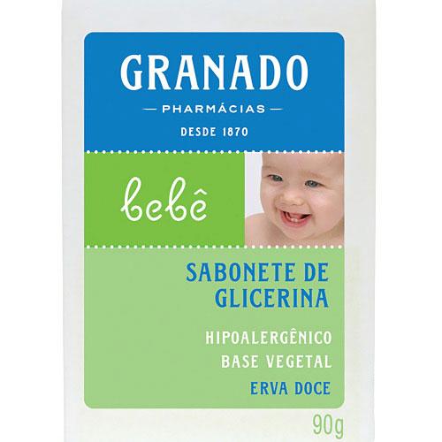 Sab granado glic bebe ervadoce 90g