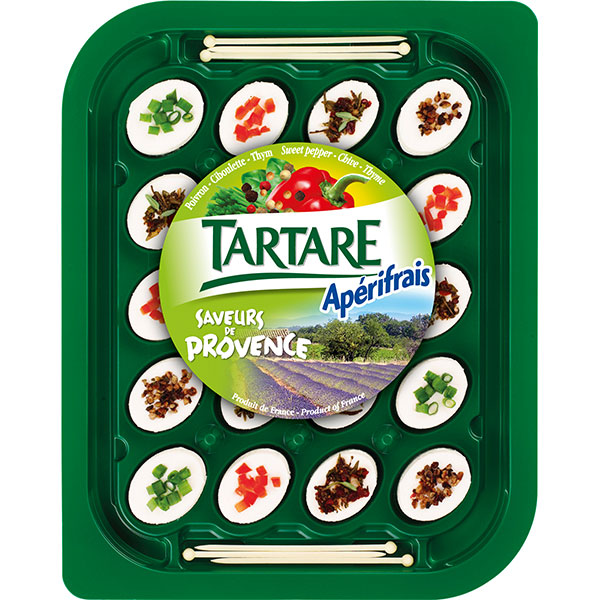 Bongrain tartare provence 100g