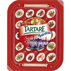 Bongrain tartare sabores italia 125g