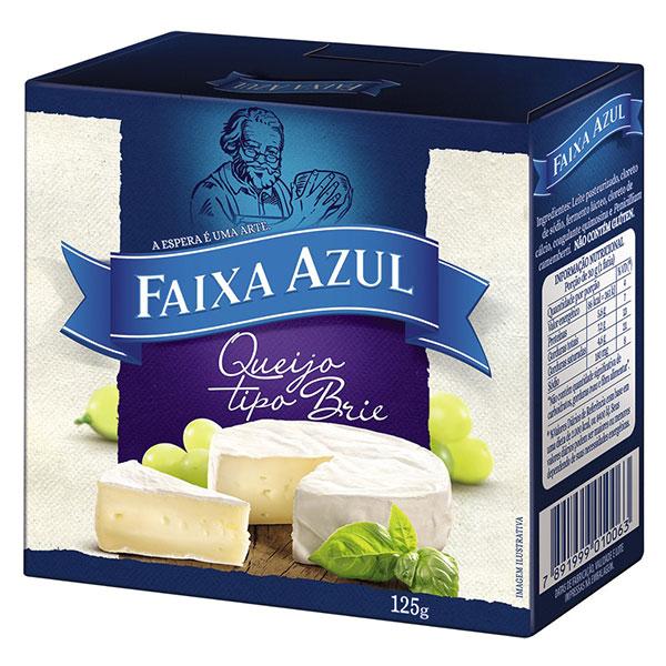 Brie faixa azul 125g