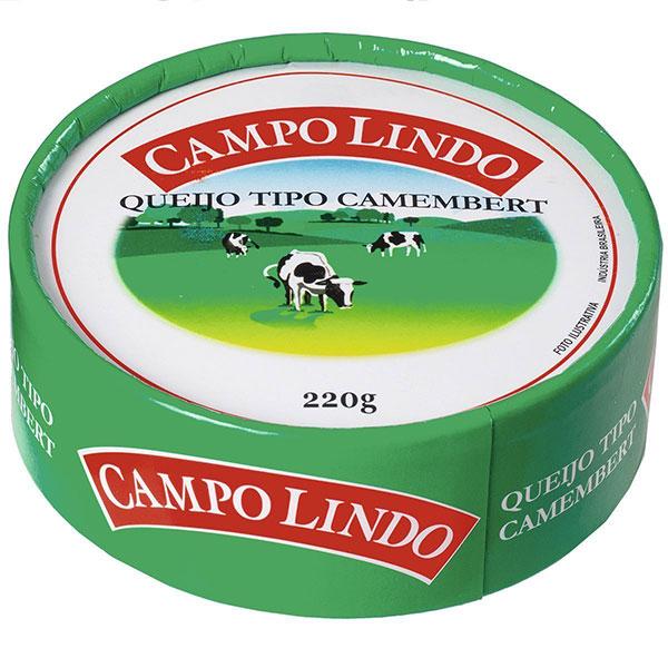 Camembert campo lindo 220g