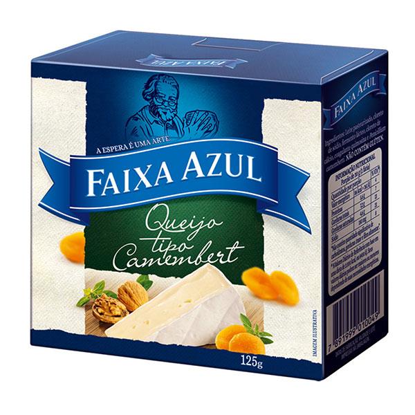 Camembert faixa azul 125g