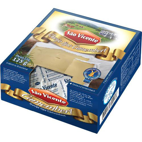 Camembert sao vicente 125g