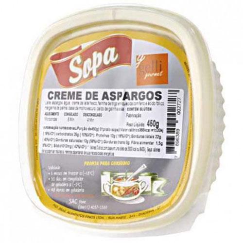 Creme gelli aspargos
