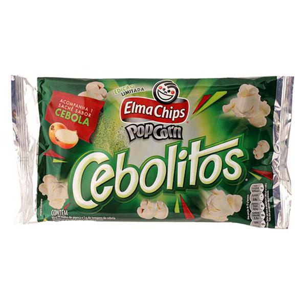 Pipoca micro elma chips cebolitos