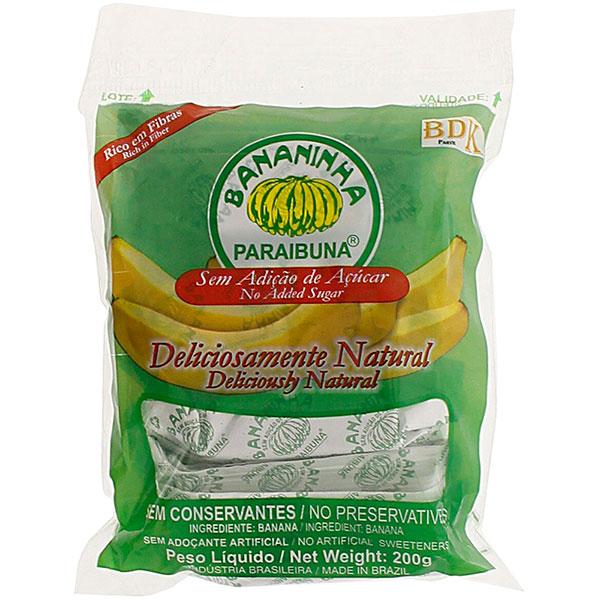 Bananinha paraibuna sem acucar 200g