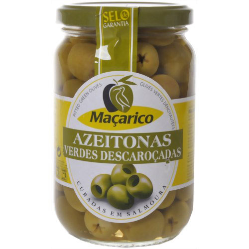 Azeitona macarico verde sem caroco