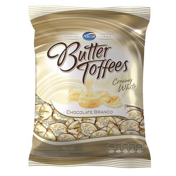 Bala arcor butter toffe choc bran