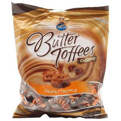 Bala arcor butter toffe chokko trufa