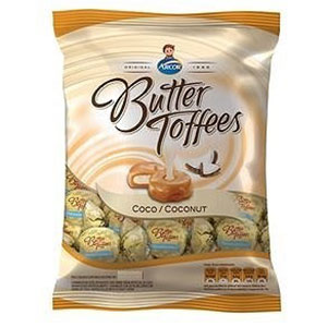 Bala arcor butter toffe coco