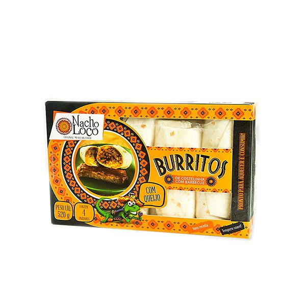 Burrito costelinha nacho loco