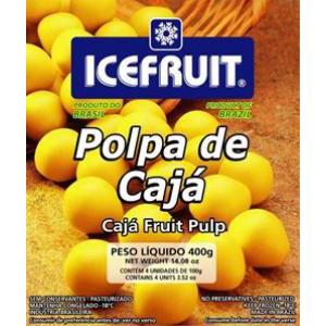 Polpa de fruta icefrut caja 400g