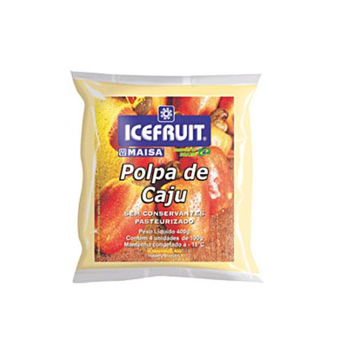 Polpa de fruta icefrut caju 400g