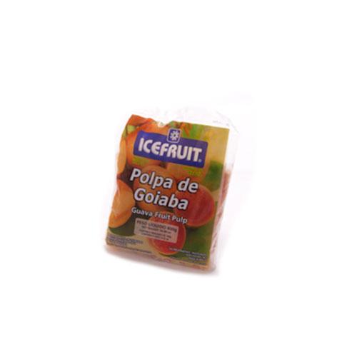 Polpa de fruta icefrut goiaba 400g