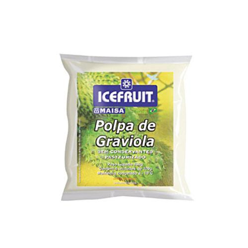 Polpa de fruta icefrut graviola