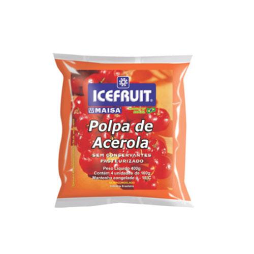 Polpa fruta icefrut acerola 400g