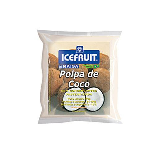 Polpa fruta icefrut coco 400g