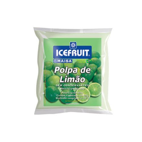 Polpa fruta icefrut limao
