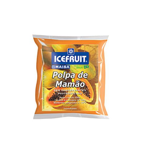 Polpa fruta icefrut mamo 400g