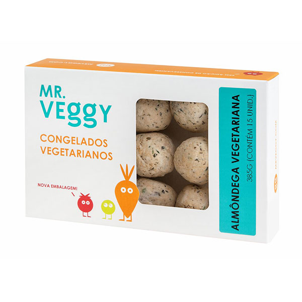Almondega mr veggy vegetarina