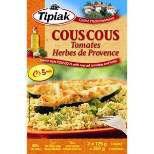 Couscous tipiak tomates herbes 250g