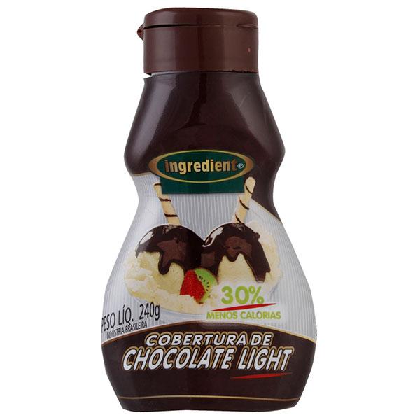 Cobertura ingredient choc light