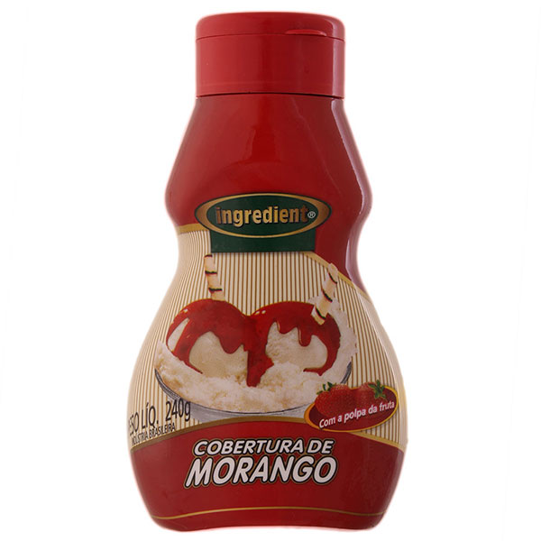 Cobertura ingredient morango motrango 240g