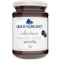 Cobertura queenberry mirtilo