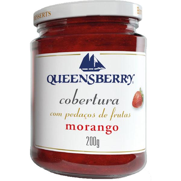Cobertura queensberry morango