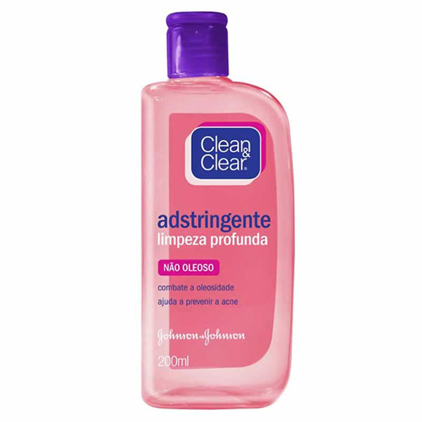 Clean clear adstringent pele normal