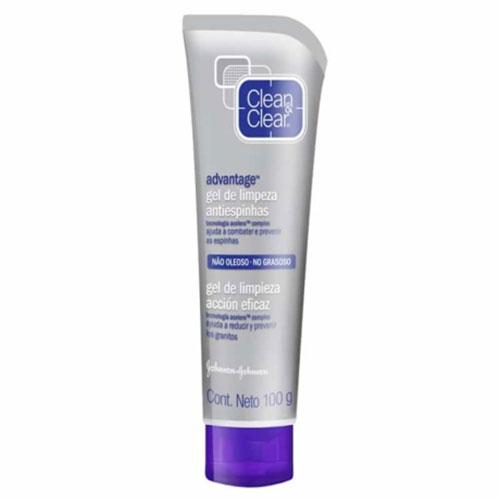 Clean clear advantage gel limpeza 100g