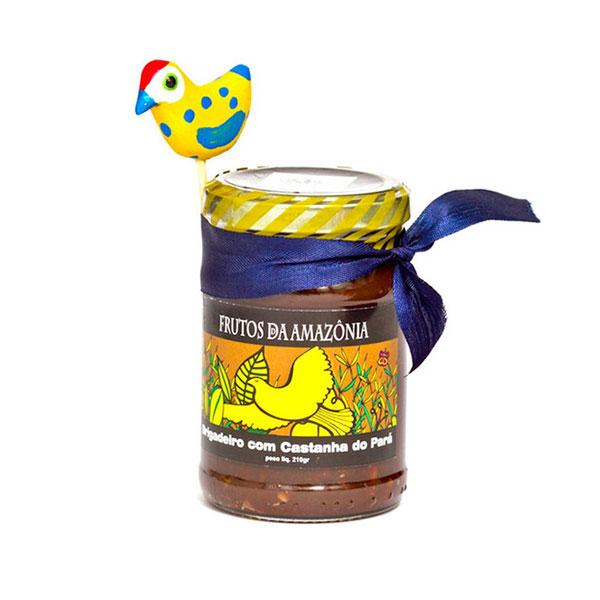 Brigadeiro frutos amazonia castanha para