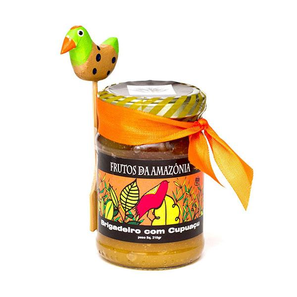 Brigadeiro frutos amazonia cupuacu