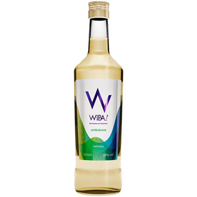 Cachaca wiba amburana 670ml