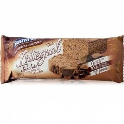 Bolo integral suavipan gotas chocolate