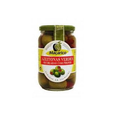 Azeitona macarico verde recheada piri