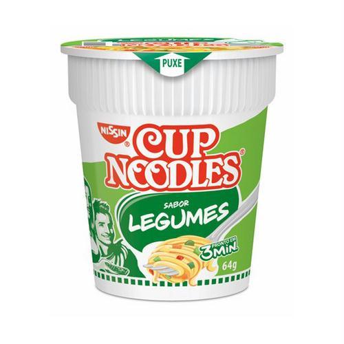 Nissin cup noodles legumes