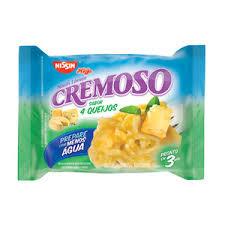 Nissin lamen cremoso 4 queijos