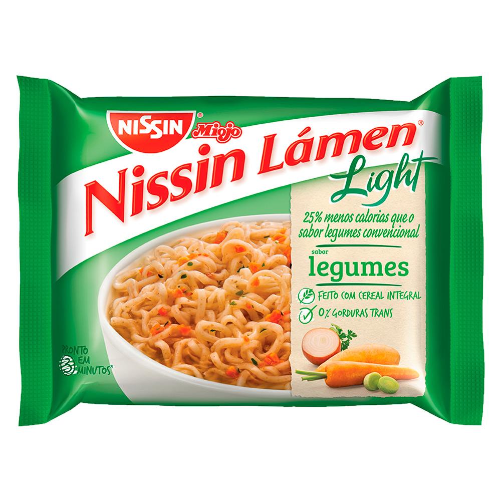 Nissin lamen light legumes