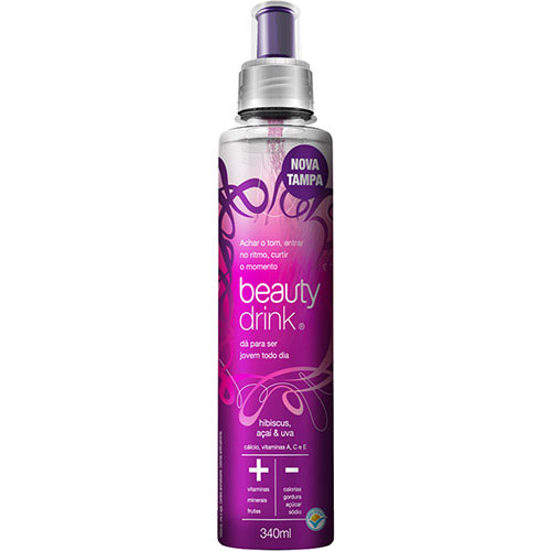 Beb beauty drink acai uva 340ml