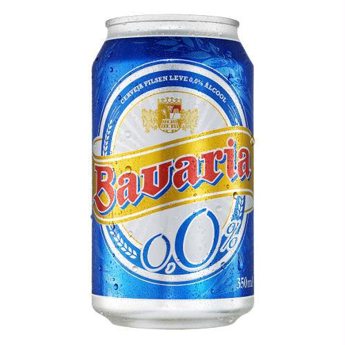 Bavaria sem alcool lata