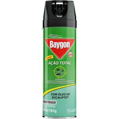 Baygon acao total eucalipto 300ml
