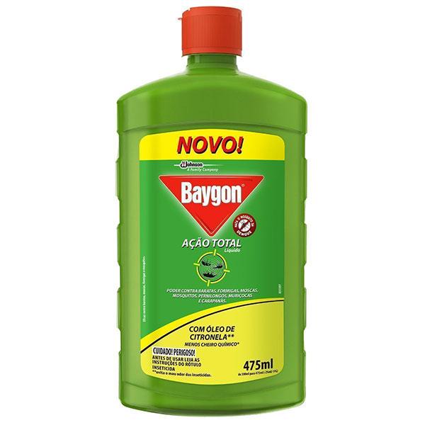 Baygon acao total liq base agua 475ml