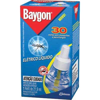 Baygon eletrico 30n refil